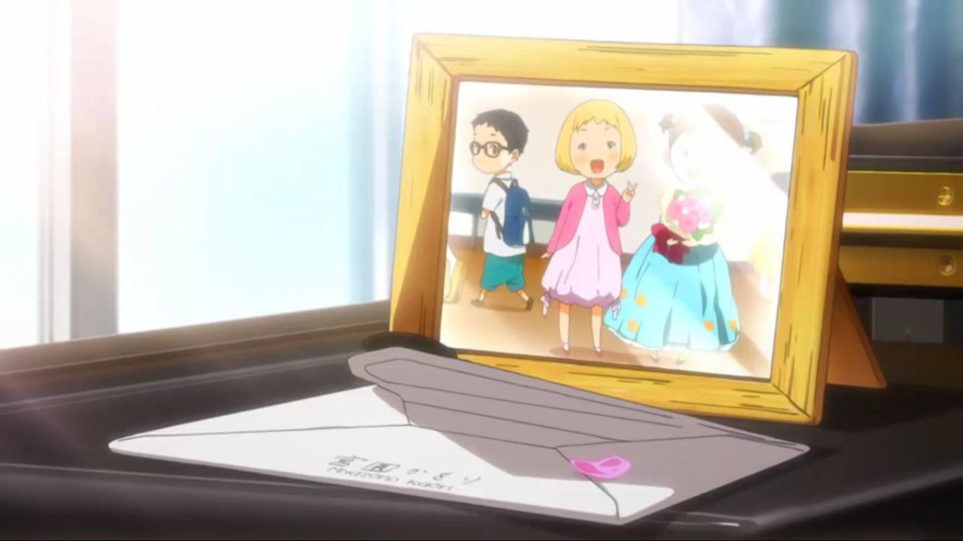 ¿Cuáles fueron las ultimas palabras de Kaori en la carta que le hace a Kousei antes de morir?