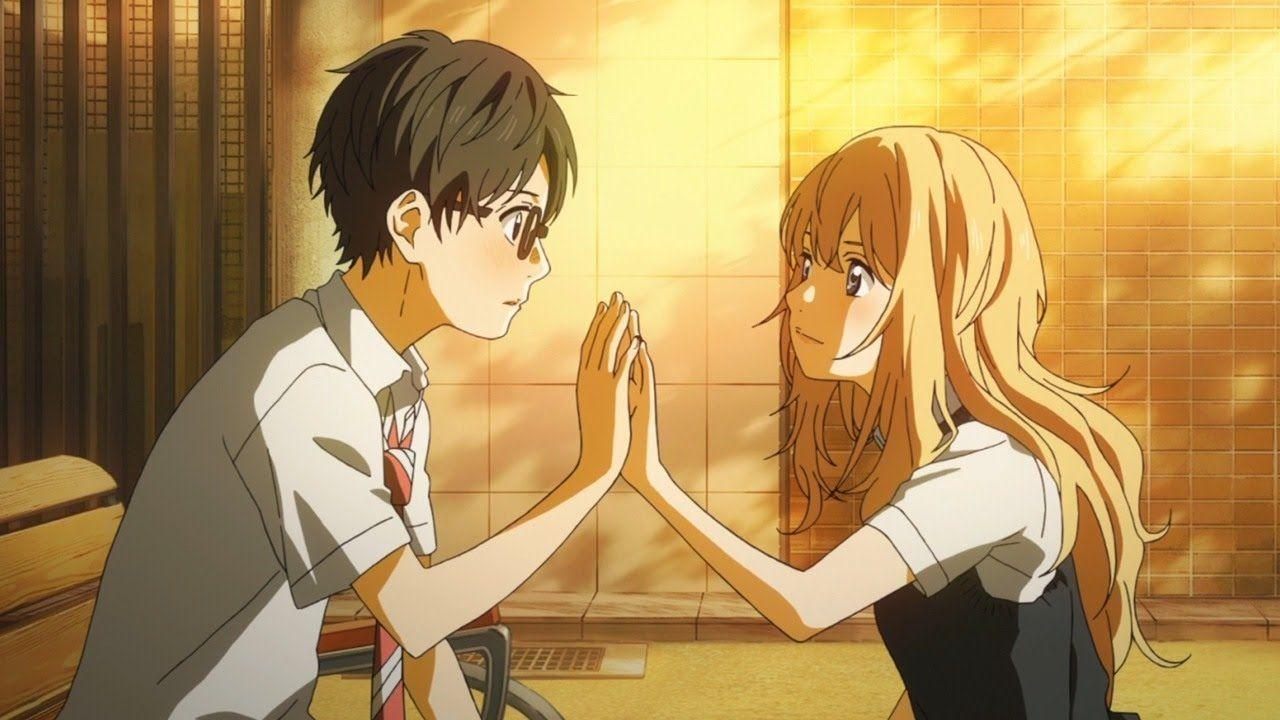 ¿Qué instrumento estaba tocando Kaori cuando Kousei la conoce por primera vez?