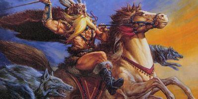 ¿Cuál es el nombre del caballo de Odín?