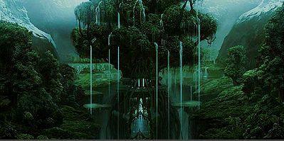 El árbol cuyas ramas y raíces unen los diferentes mundos se llama...