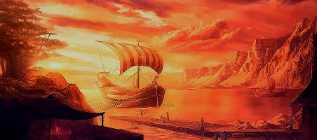 El barco mitológico