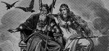 En el principio, los dioses se agrupaban en dos grupos. ¿Cómo se denominaban?