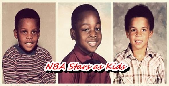 13125 - ¿Podrías reconocer a las estrellas actuales de la NBA cuando eran pequeños?