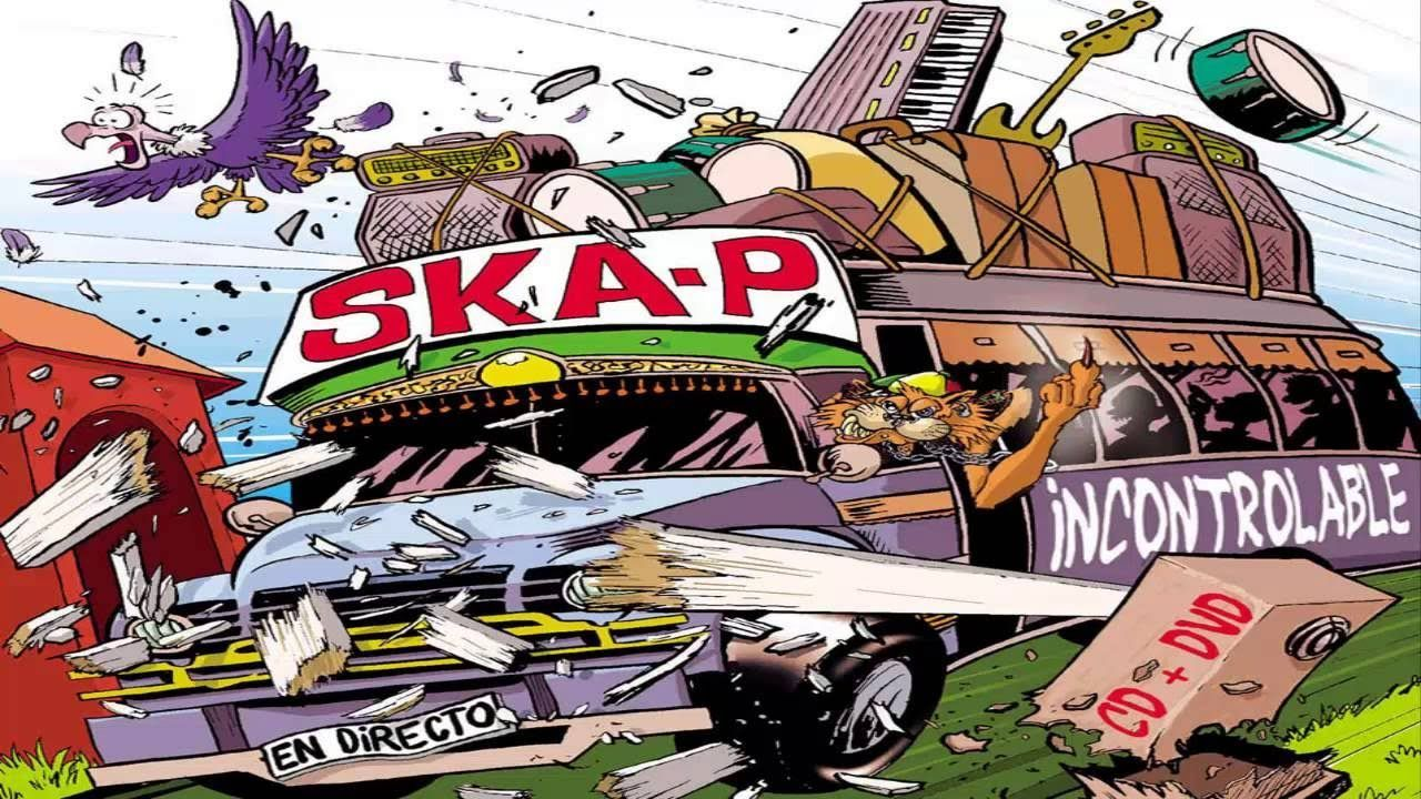 13193 - ¿Sabés a que canciones se relacionan estas frases de SKA-P?