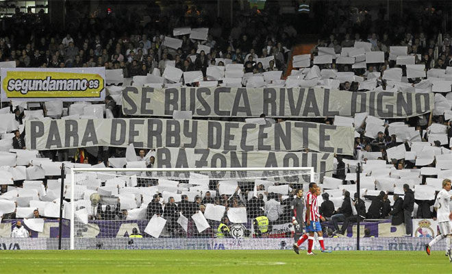 ¿Cuántos años seguidos estuvo el Atlético de Madrid sin ganar a su eterno rival?