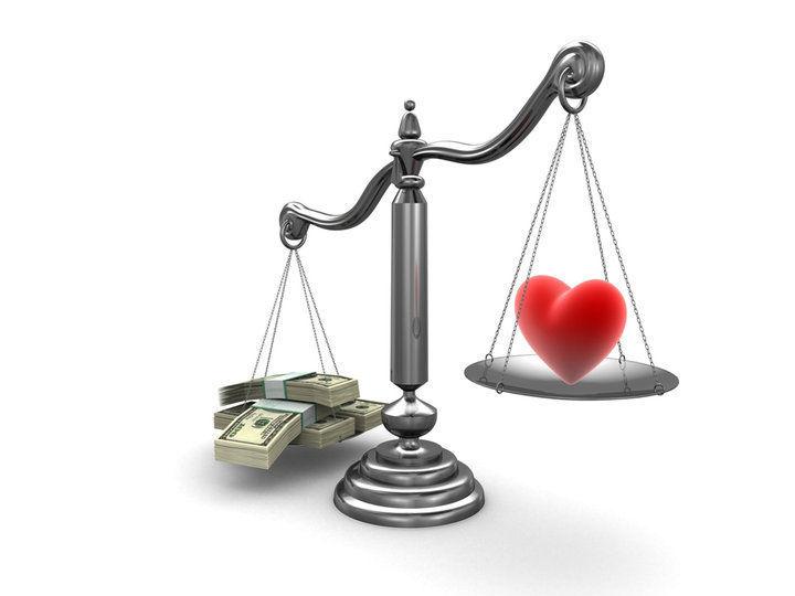 ¿Sin amor o sin dinero?