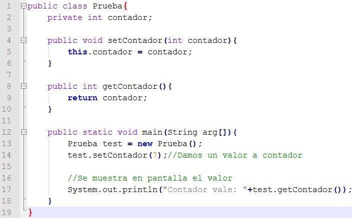 La programación en Java, es una programación orientada a...