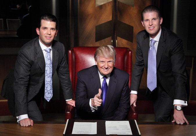 ¿Qué famoso programa de televisión protagonizó Trump?
