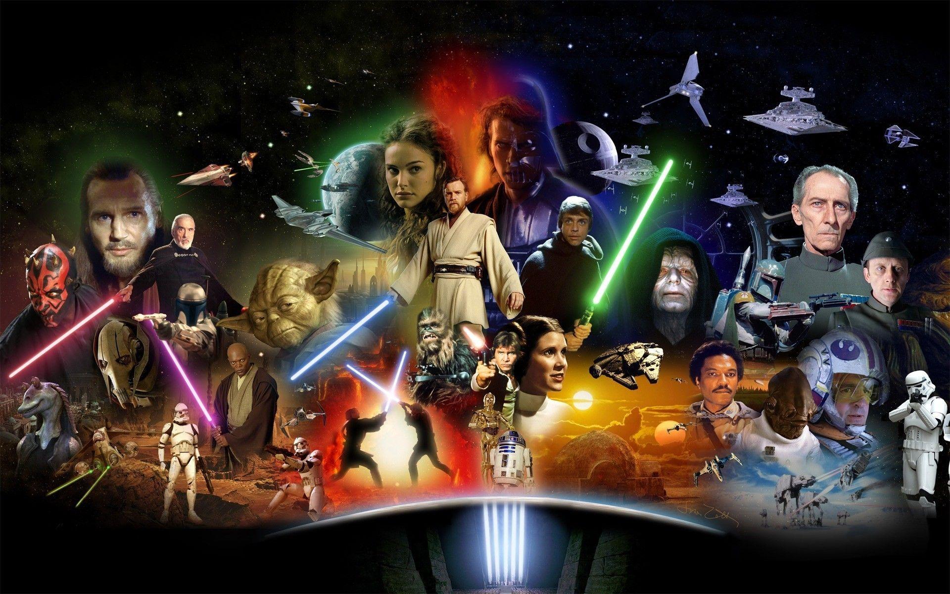 13312 - ¿Qué rol en Star Wars desempeñarías?