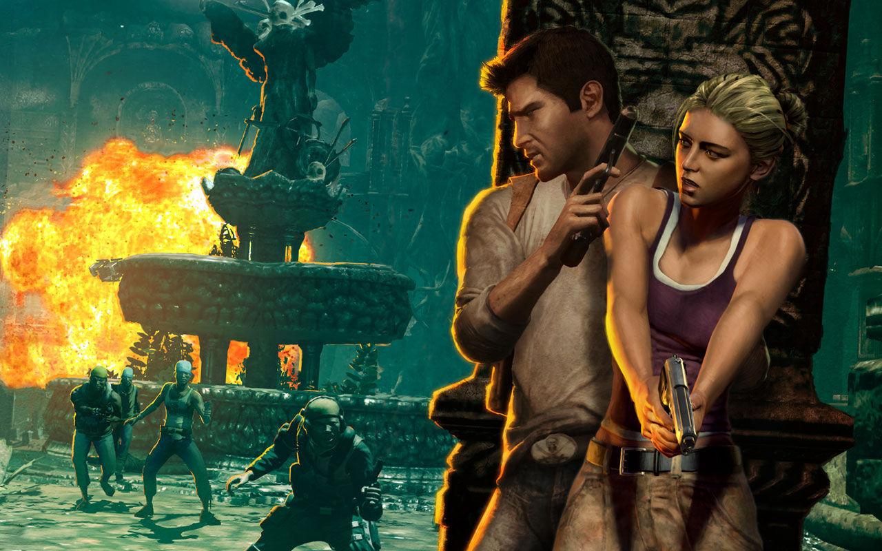 ¿Qué se encuentran Nate y Sully en mitad del río Amazonas en Uncharted: El tesoro de Drake?