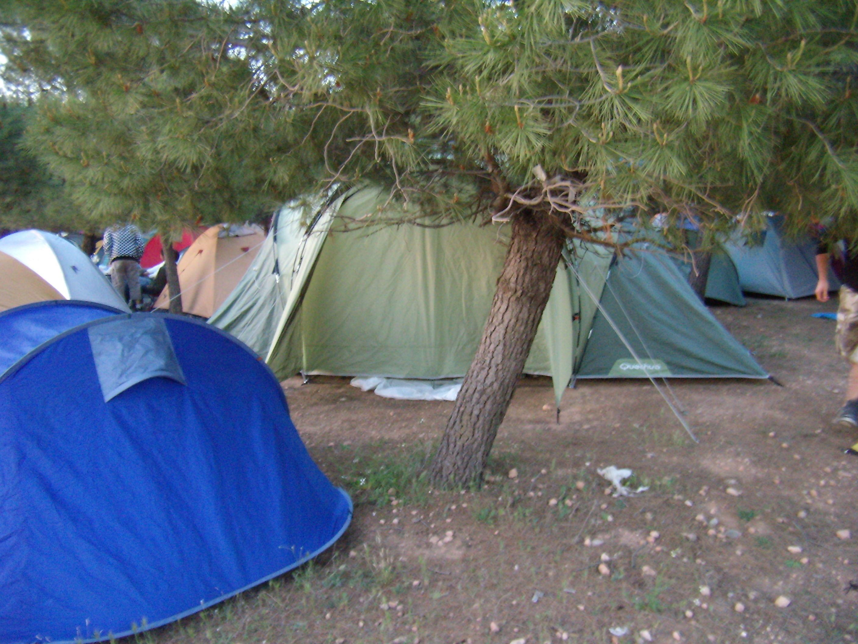 ¿Te gusta acampar?