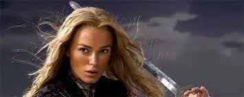 ¿Cuántos años tenía Elisabeth (Keira) en el rodaje de la primera película?