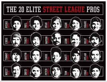¿Cuál ha sido el campeón de la street league 2015?