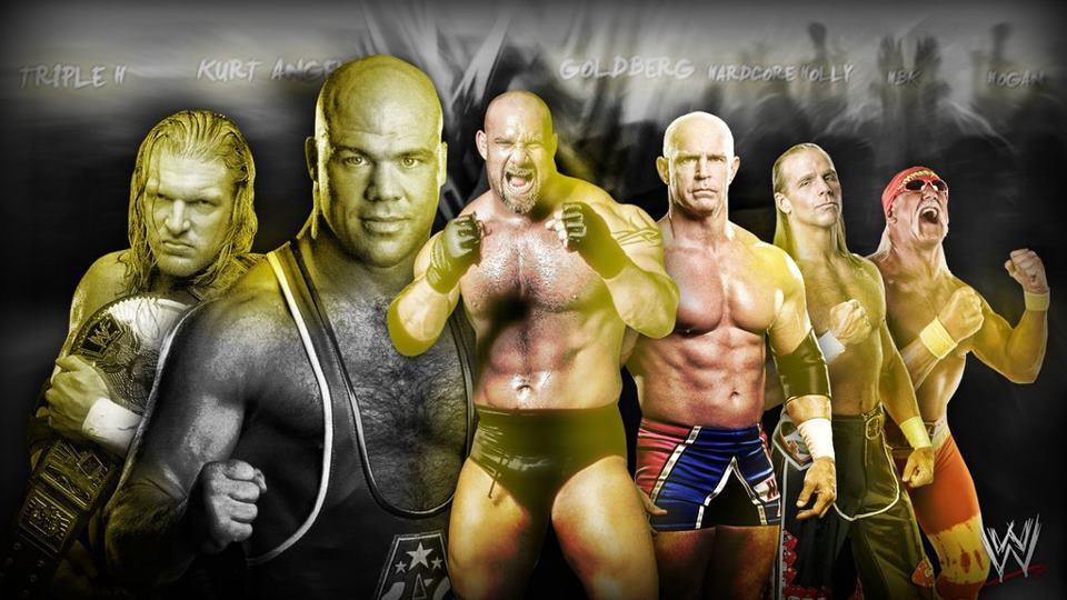 9961 - ¿Recuerdas las Viejas Glorias de la WWE a lo largo de los años?