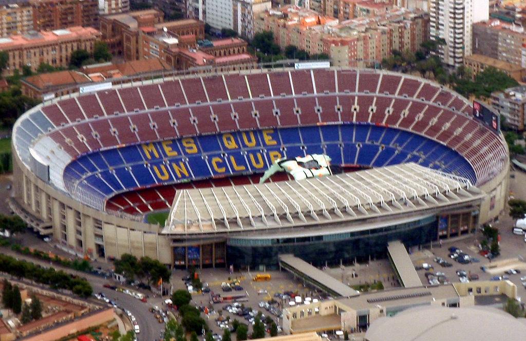 ¿En qué año fue inaugurado el Camp Nou, actual estadio culé?