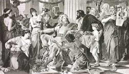 En el mismo año en que los visigodos cruzan el Danubio en Peuce nace el que será su primer rey. ¿Quién fue?