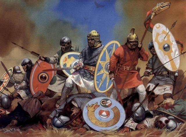 Tras la muerte de Teodosio I el imperio se reparte. ¿Qué sucede con los godos?