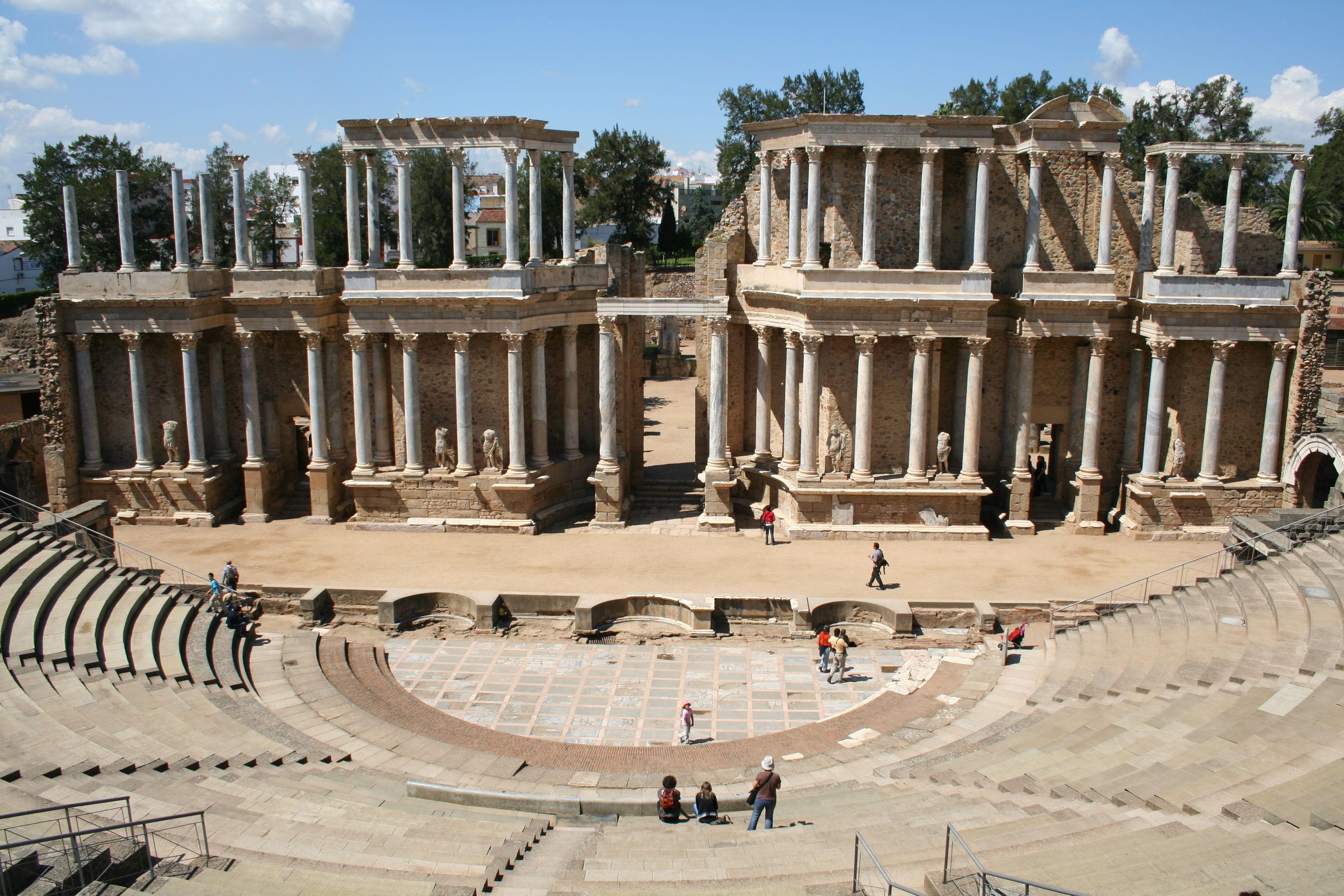 Pasamos a un poco de Historia ¿En qué año se fundó Emérita Augusta (Mérida)?