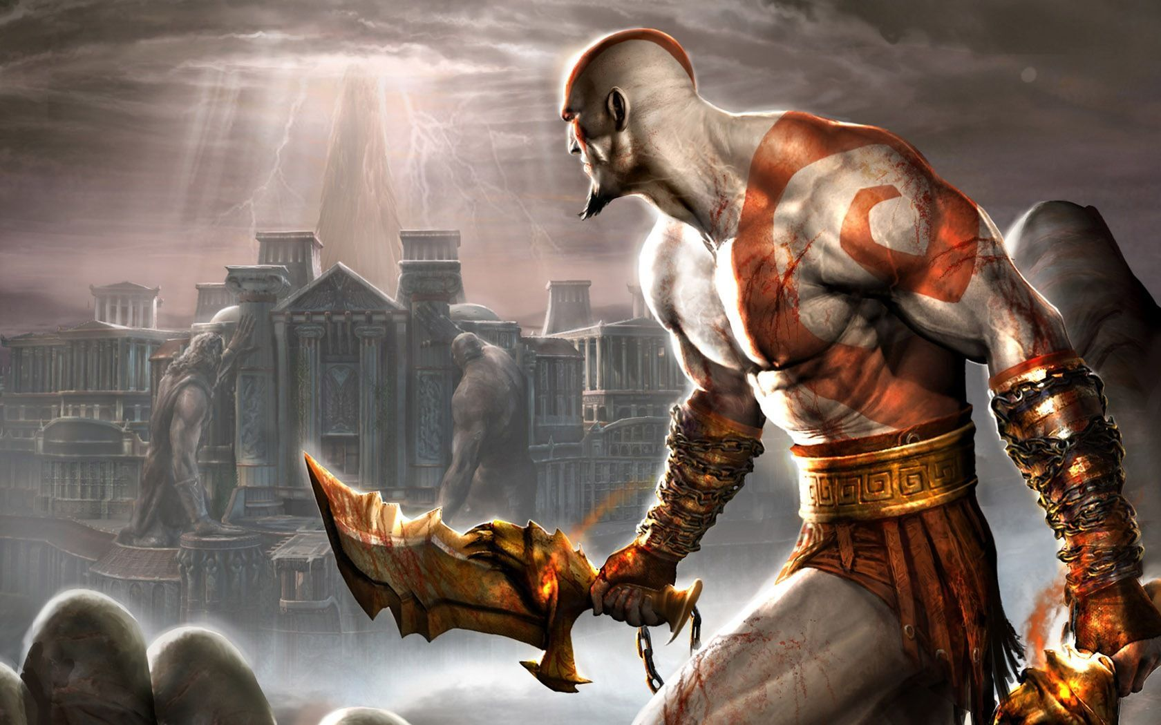 8228 - Megatest  ¿cuánto sabes de la saga God of War?