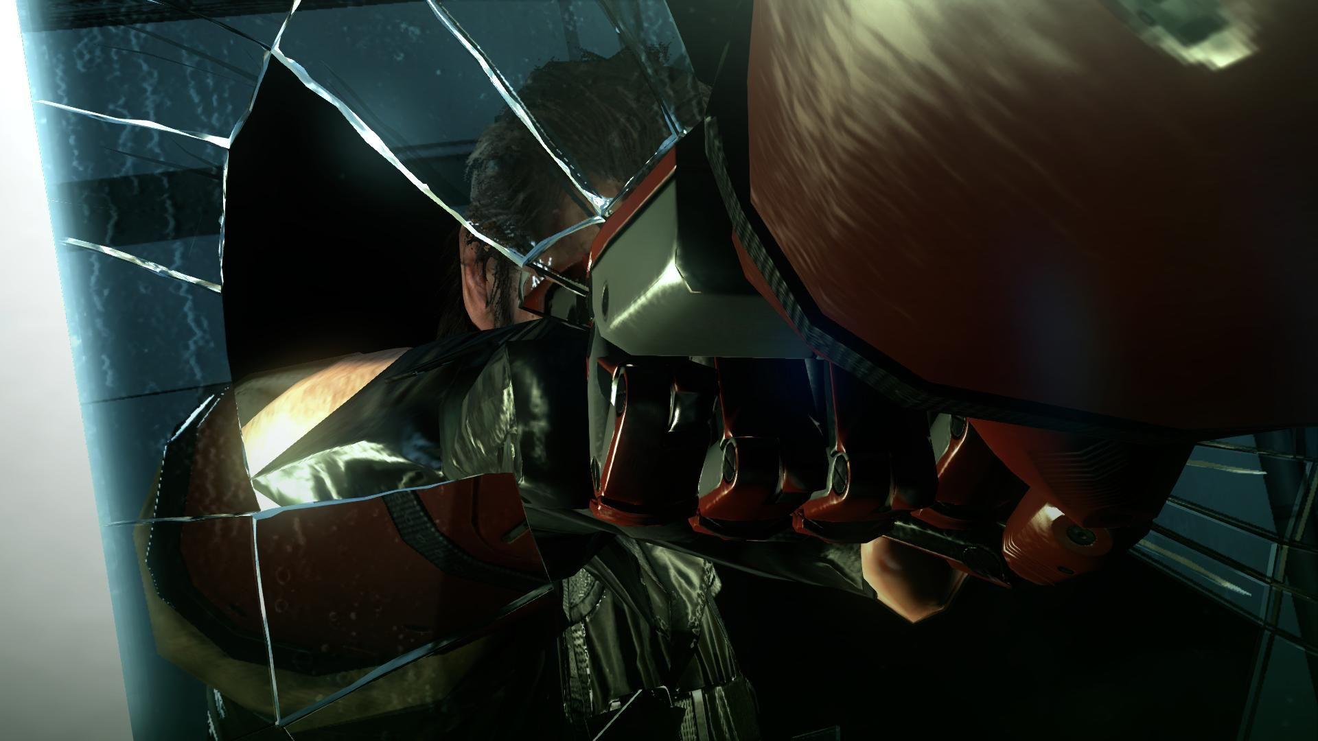 En el momento en que Snake rompe el espejo en el flashfoward de la misión 46, ¿cómo se llama la canción que empieza a sonar?