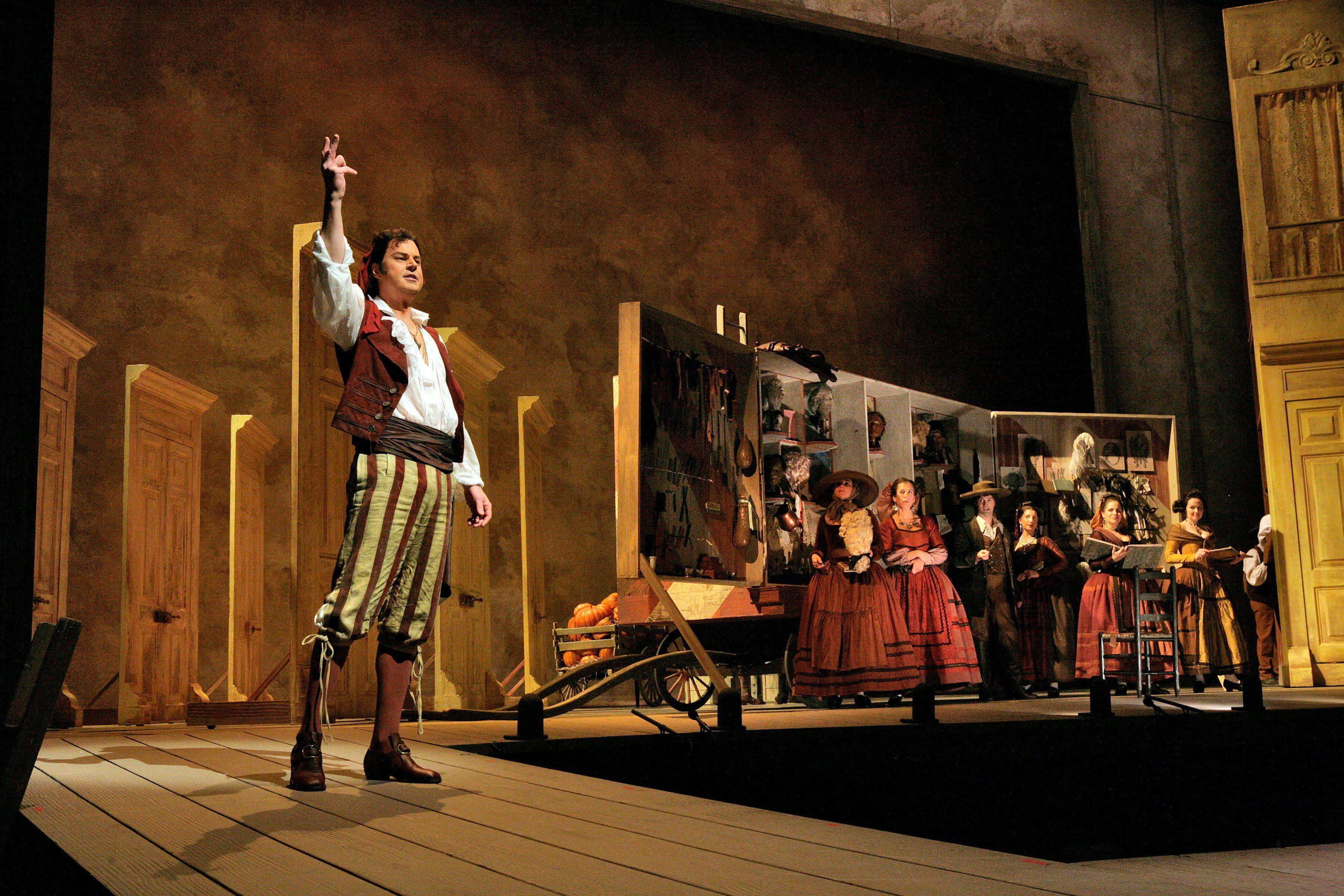 ¿De las siguientes óperas de G. Rossini, cual está ambientada en España?