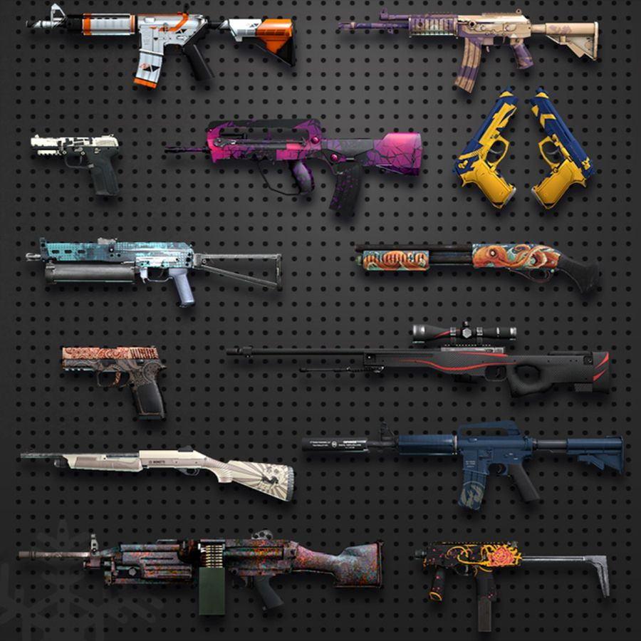 13522 - Reconoces estas skins del Counter Strike Global Offensive?