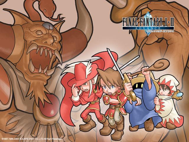 13536 - ¿Que clase del Final Fantasy original deberías ser?
