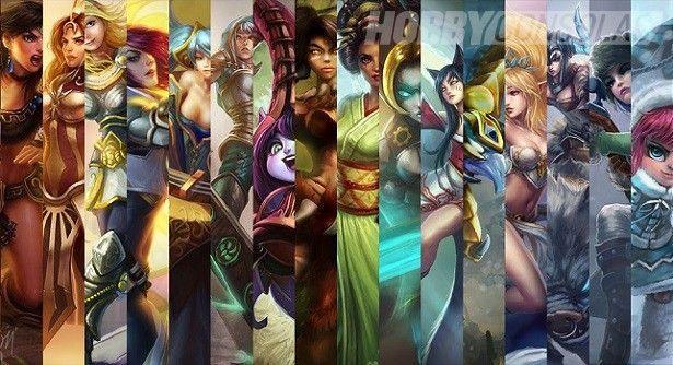 13630 - ¿Con qué campeona de League of Legends saldrías?