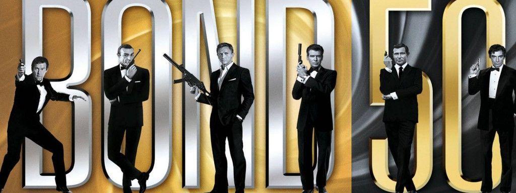 ¿Cuántas películas hay de James Bond? (hasta Marzo del 2016)