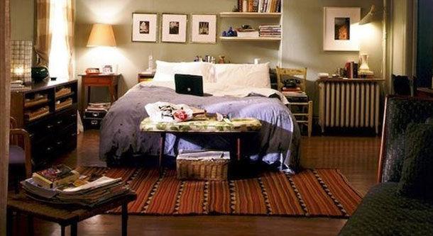 ¿En dónde salía este dormitorio?