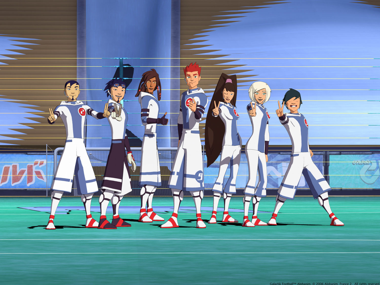 13672 - ¿Te acuerdas de Galactik Football? ¿Sabes quiénes son estos personajes?