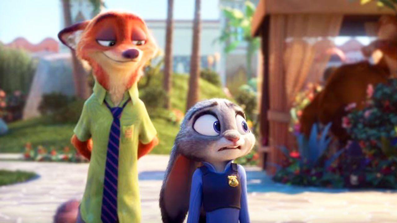 Algo sencillito, ¿cómo se llama el zorro con el que Judy hace amistad?