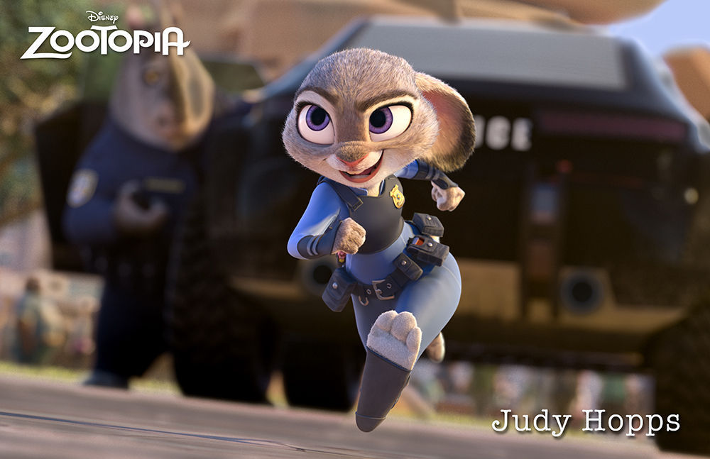 En la infancia de Judy, ¿porqué sale en defensa de unas niñas?
