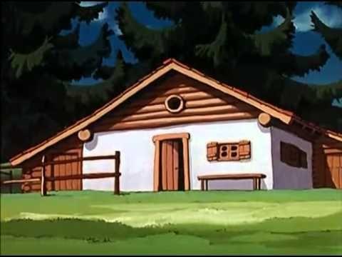 ¿A qué dibujos animados pertenece esta casa?
