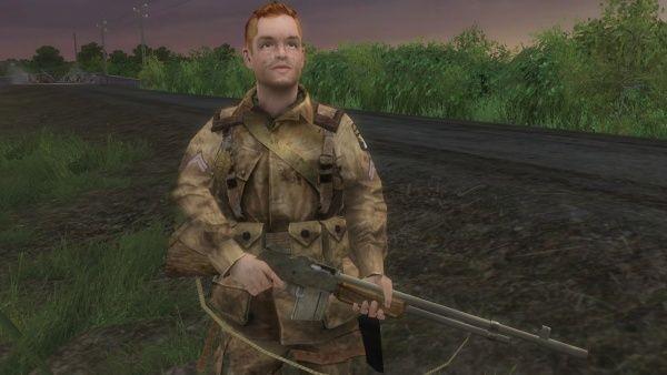 ¿Con qué soldado se encuentra Hartsock después del salto?