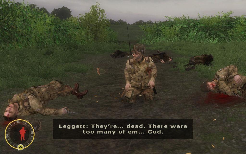 ¿Cómo mueren los soldados citados anteriormente?