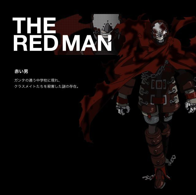 El anime indica que el Red Man es...
