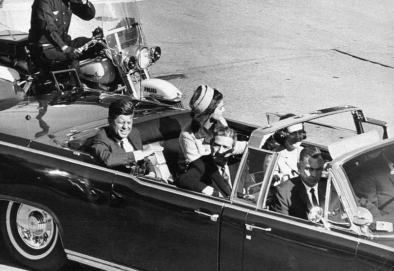 ¿Cuál es la fecha del asesinato de John F. Kennedy?