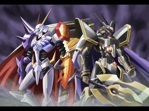 Alphamon y Omegamon x están hablando sobre los Royal Knights ¿Cuál es la incoherencia?