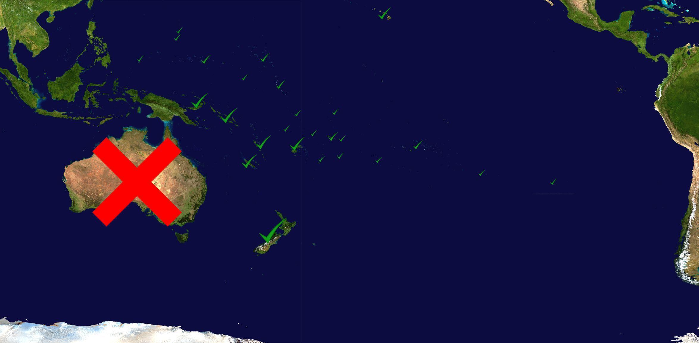 13743 - ¿Cuánto sabes de Oceanía más allá de Australia? [AVANZADO]