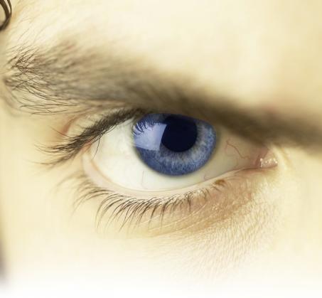 ¿Qué siente la persona de este ojo?