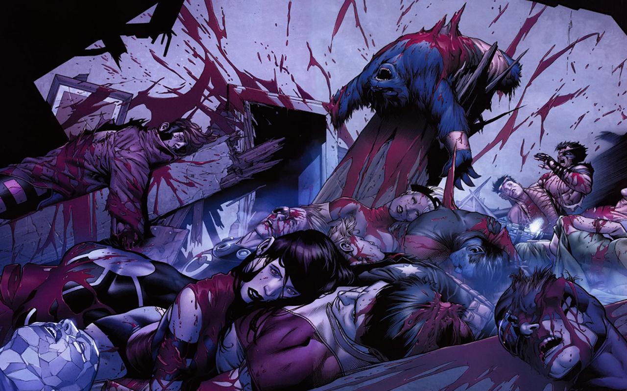 ¿Cuál fue el x-man que murió porque un brazo atravesó su pecho?
