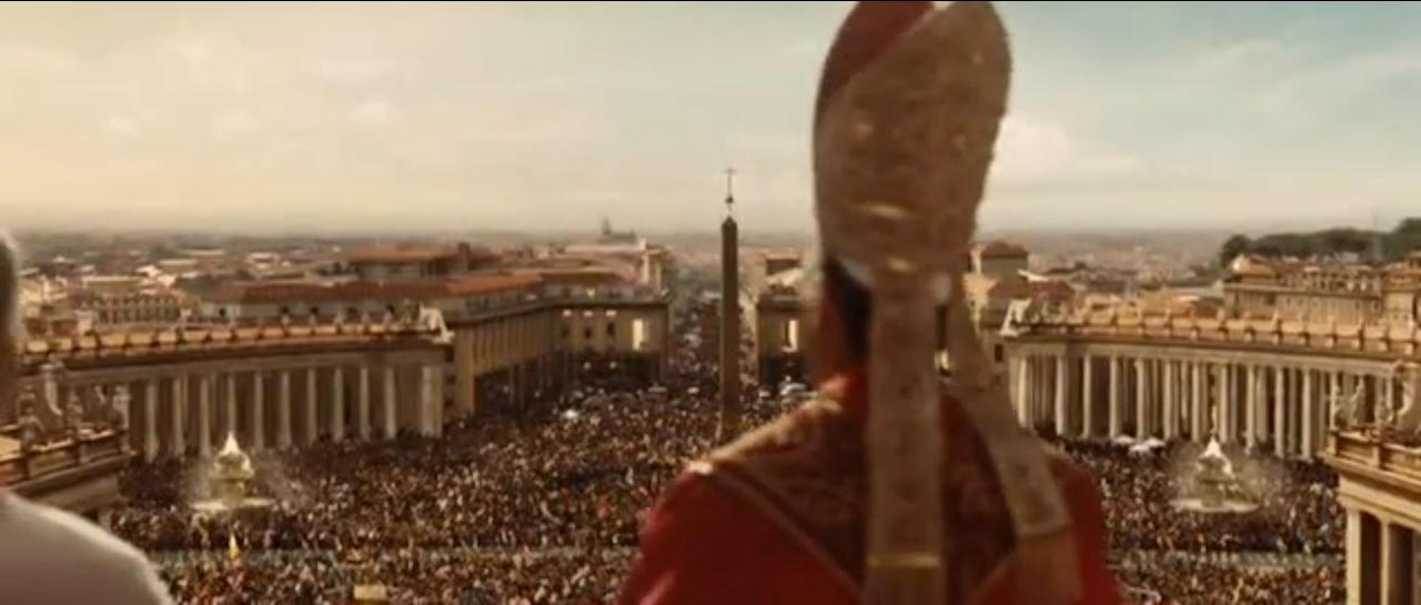 En la película, ¿Qué Cardenal es finalmente elegido Papa?
