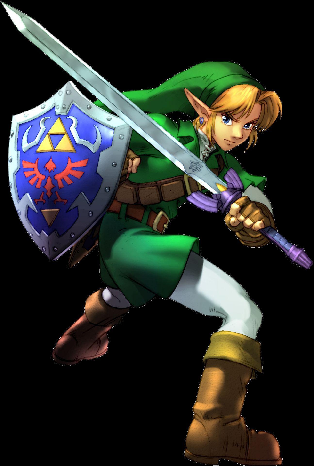 ¿Porqué Link es zurdo?