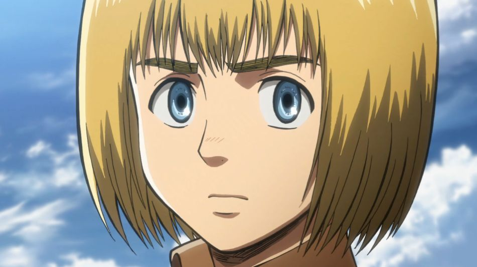 ¿En que titán se transforma Armin?