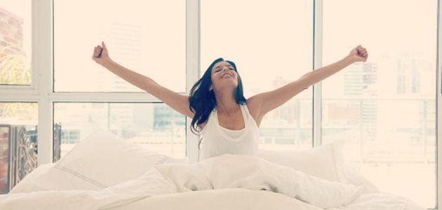 Si sólo pensaras en cuándo te sentirías mejor y fueras totalmente libre de planificar tu día, ¿a qué hora te levantarías?