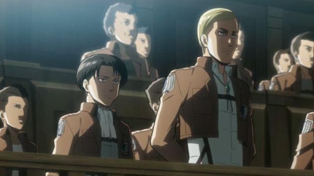 ¿Quiénes són Levi y Erwin?