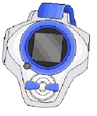 ¿Cómo se llama el Digivice de Digimon Tamers/3?