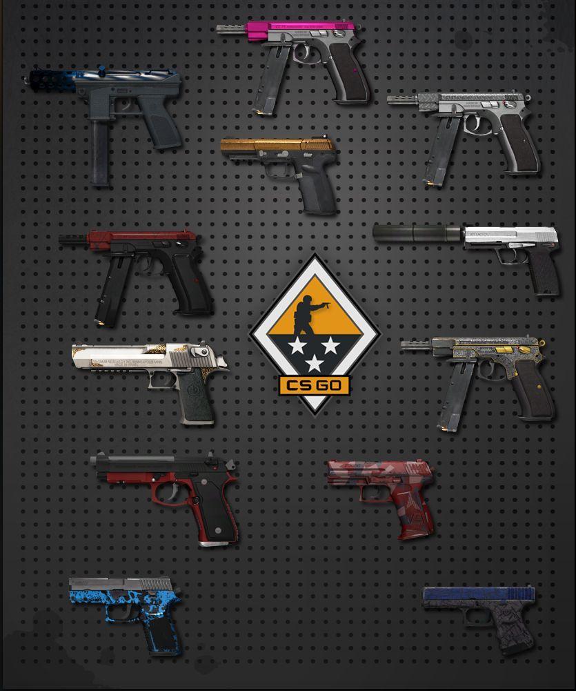 ¿Cúal de las siguientes pistolas no necesita varios disparos a la cabeza para matar a un enemigo que lleve casco?