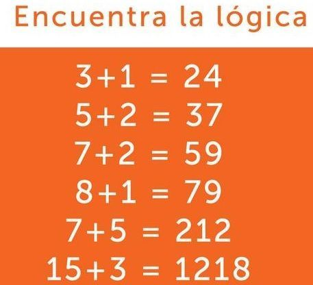 Según esta imagen, cual sería la respuesta correcta de :  4+3 =  ?
